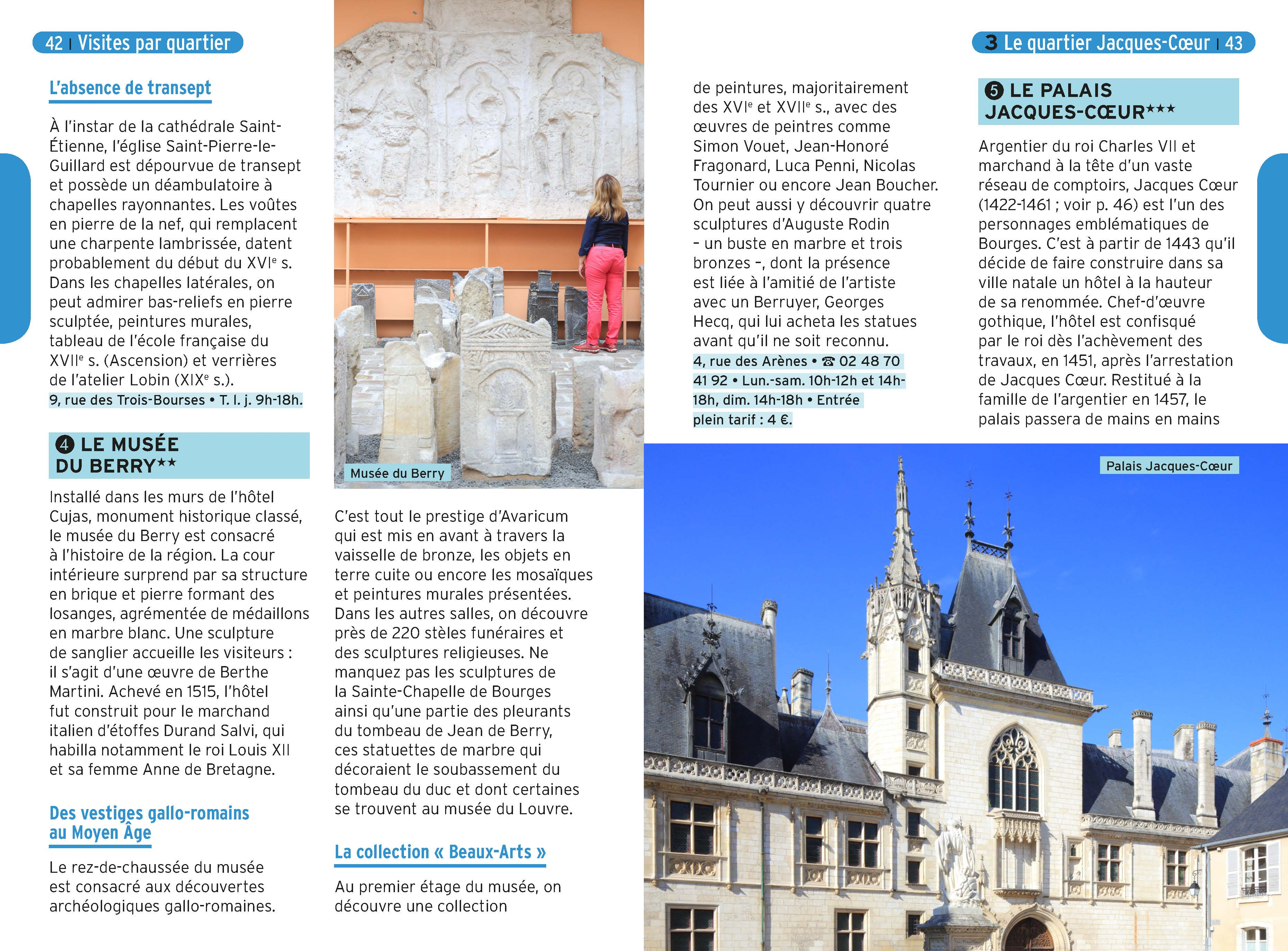 Guide Un Grand Week End 224 Bourges France Guides border=