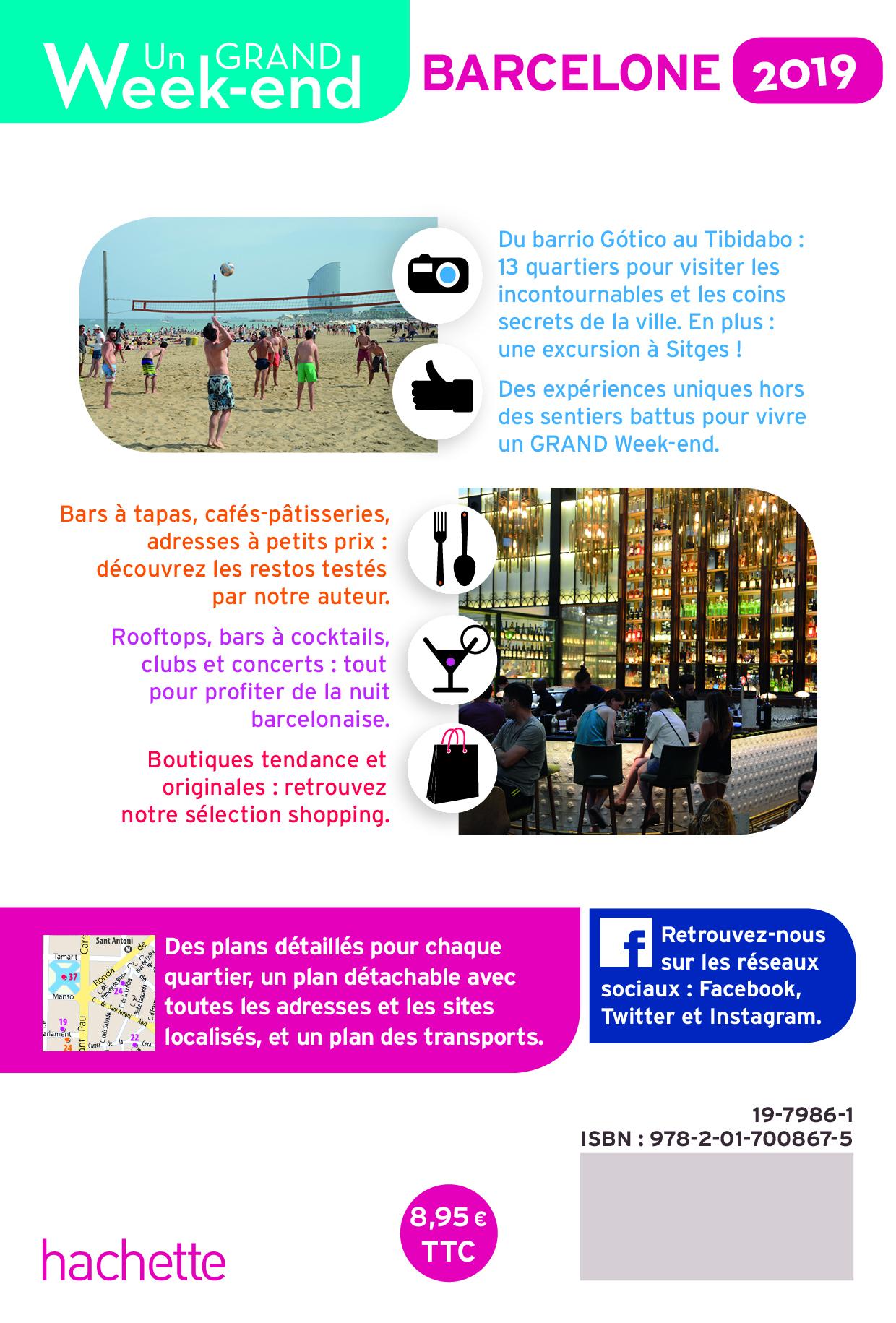Villes de A à Z PETIT LIVRE DE PETIT WEEK-END À BARCELONE Livres en français