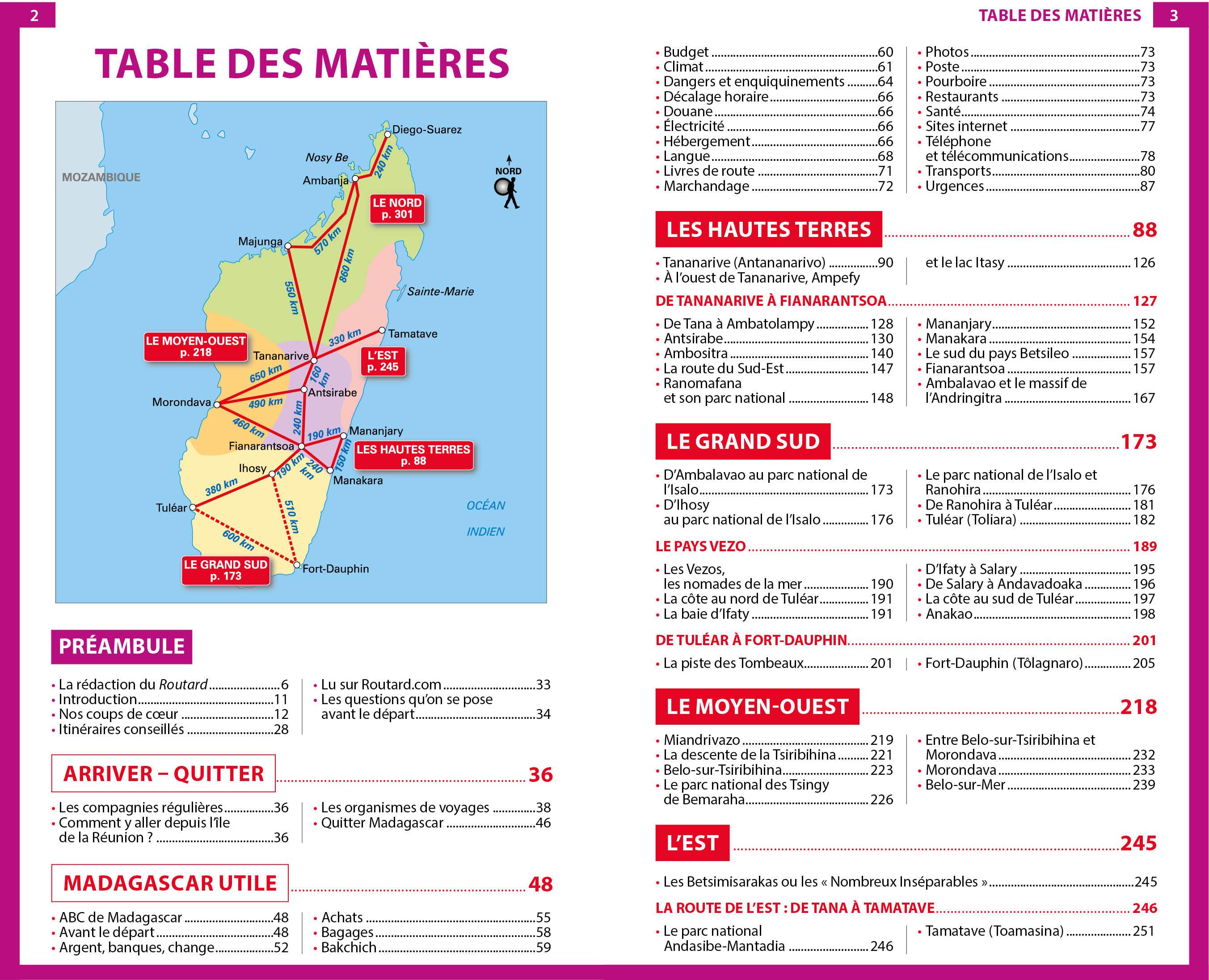 Carte Madagascar Routard.Guide Du Routard Madagascar 2018 19 Etranger Guides